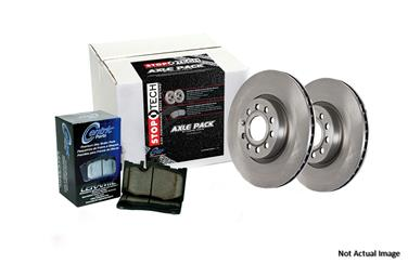 1990 Toyota Camry Disc Brake Pad and Rotor Kit CE 908.44066