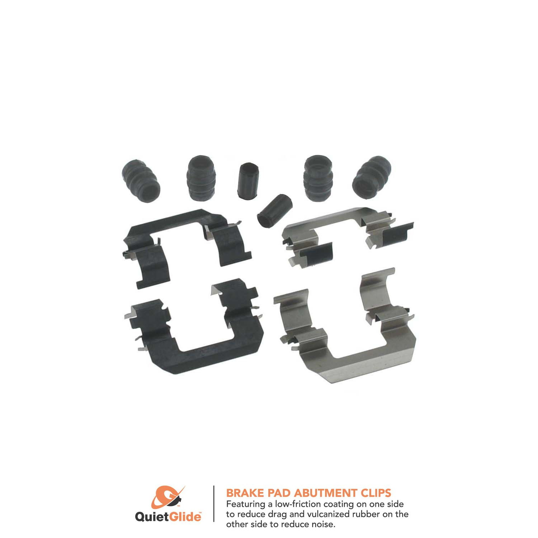 Disc Brake Hardware Kit Front Centric 117.51003