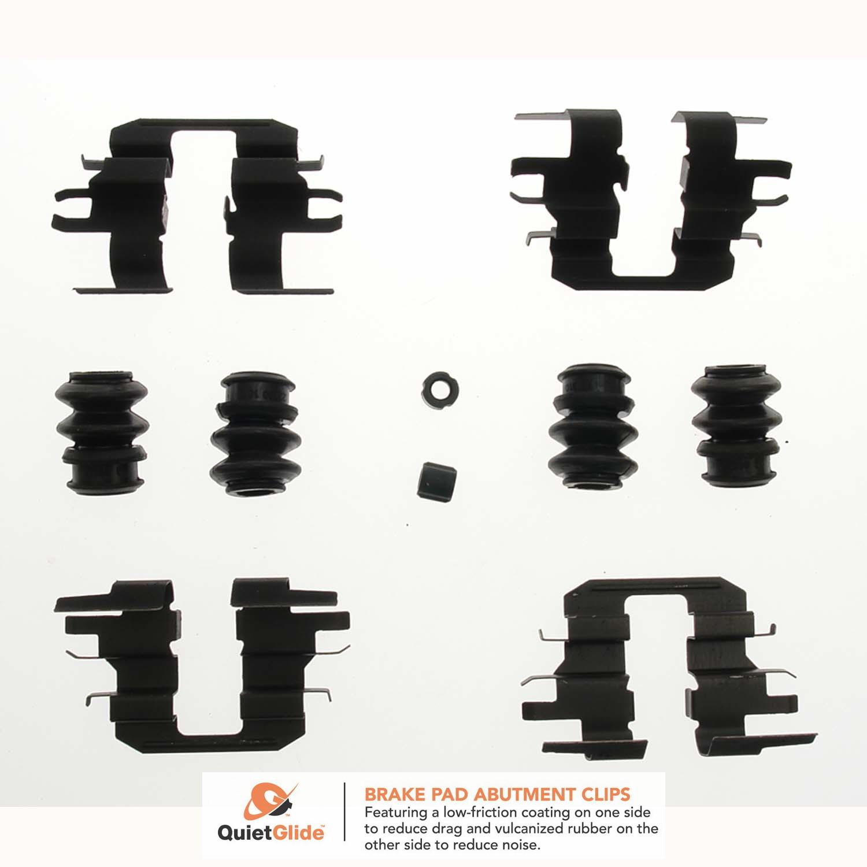 Disc Brake Hardware Kit Rear Dorman HW13936