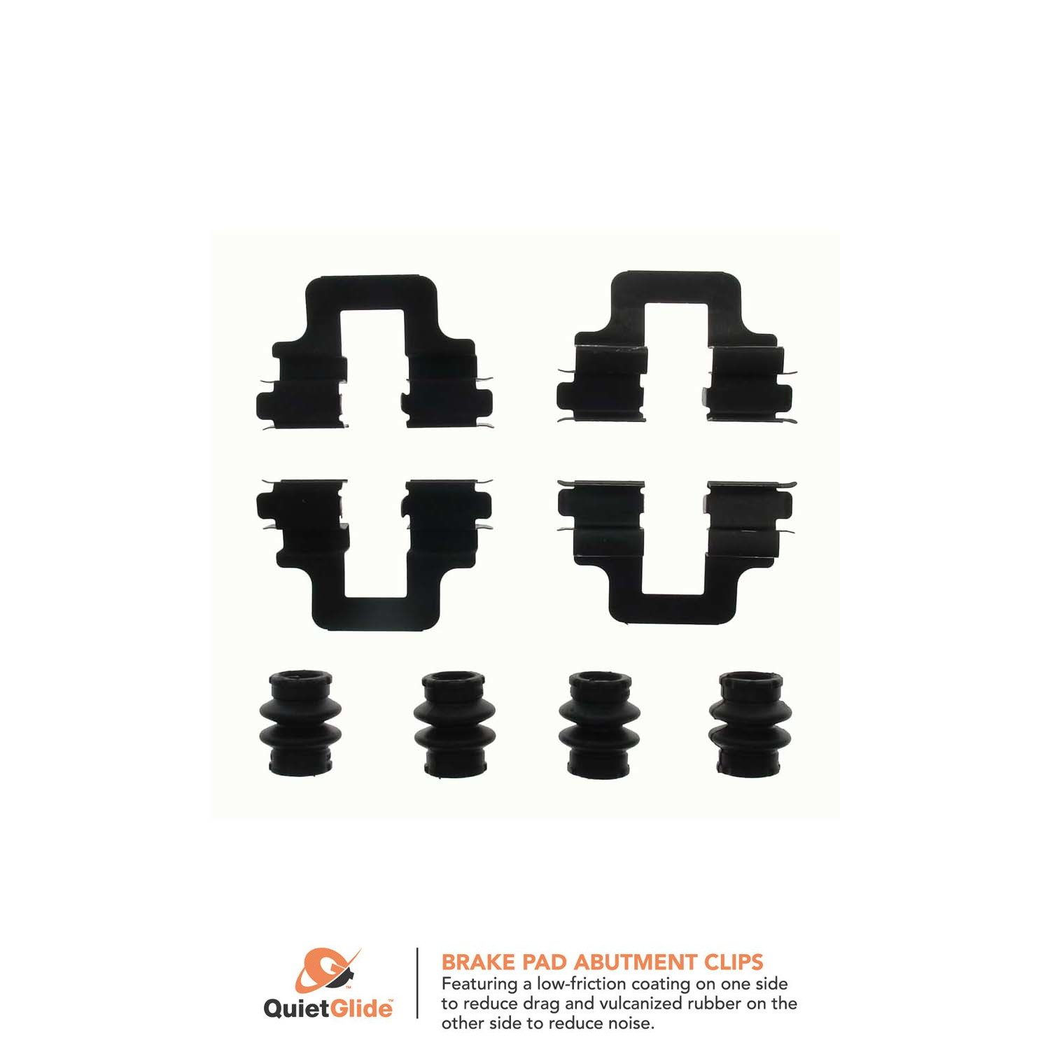 Centric Brake Hardware Kit Front New for VW Audi A6 Quattro A8 S6 117.33031