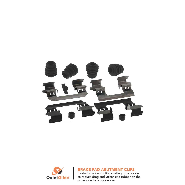 Disc Brake Hardware Kit Front Better Brake 13409