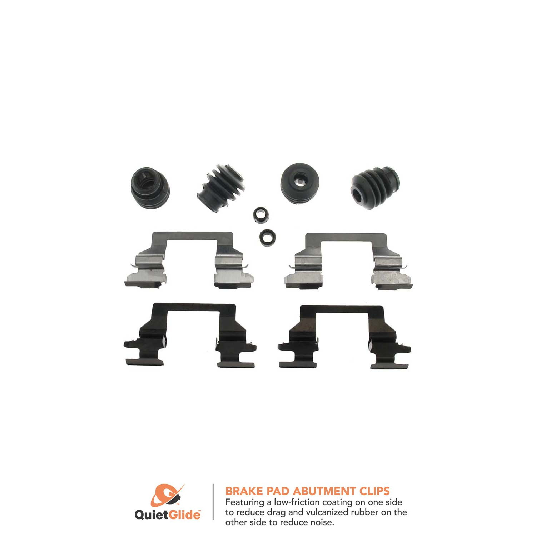 Disc Brake Hardware Kit Front Centric 117.62053