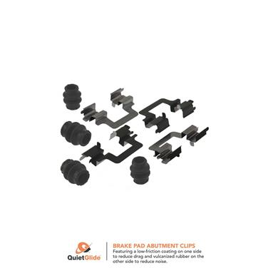 2014 Volkswagen CC Disc Brake Hardware Kit CK 13489Q