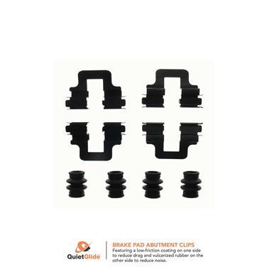 2014 Volkswagen CC Disc Brake Hardware Kit CK 13490Q