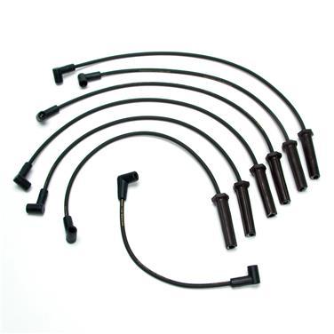 1988 Pontiac Fiero Spark Plug Wire Set DE XS10301
