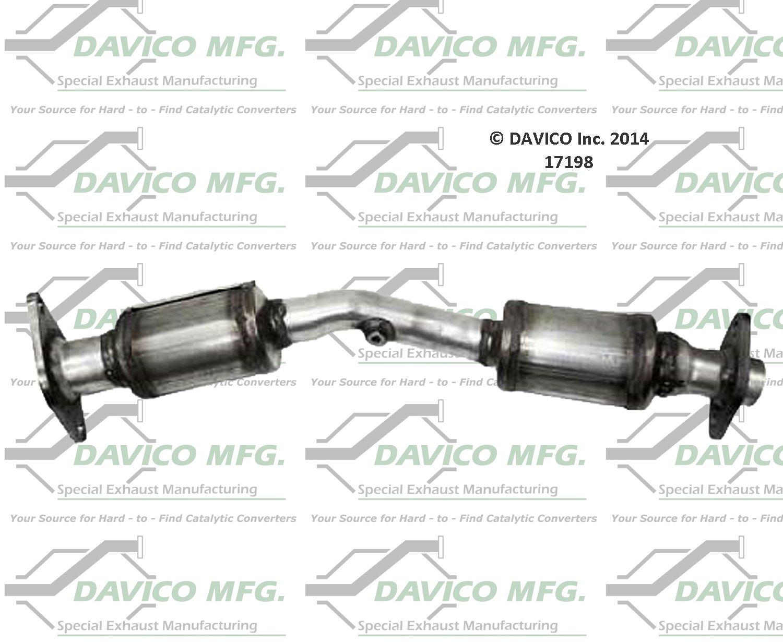 Davico 17398 Catalytic Converter