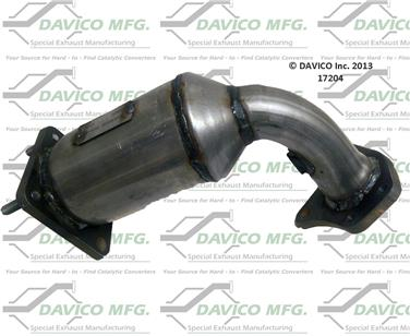 Catalytic Converter-Exact-Fit Front Right Davico Exc CA 17204