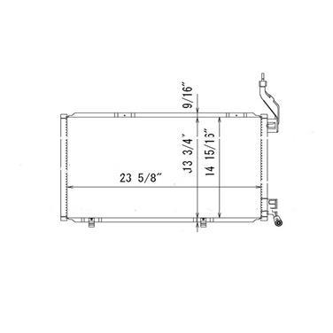 A/C Condenser TY 4437