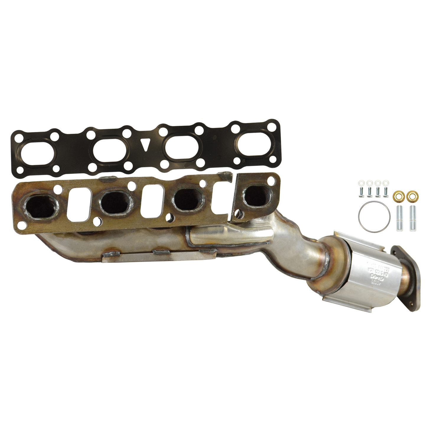 2005 Nissan Titan Exhaust Manifold With Integrated Catalytic Converter EA  40638