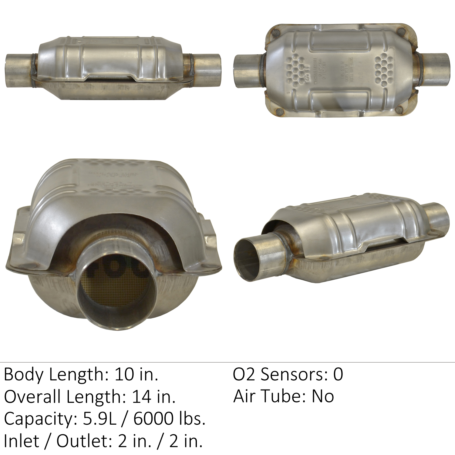 2003 Ford Escape Catalytic Converter Ea 70316
