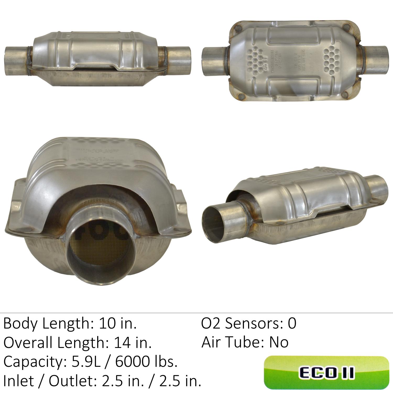 2002 Nissan Sentra Catalytic Converter EA 83166