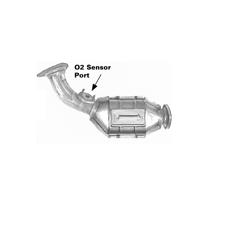 2001 Toyota 4runner Catalytic Converter Echo Oxygen Sensor Location Ea 910053