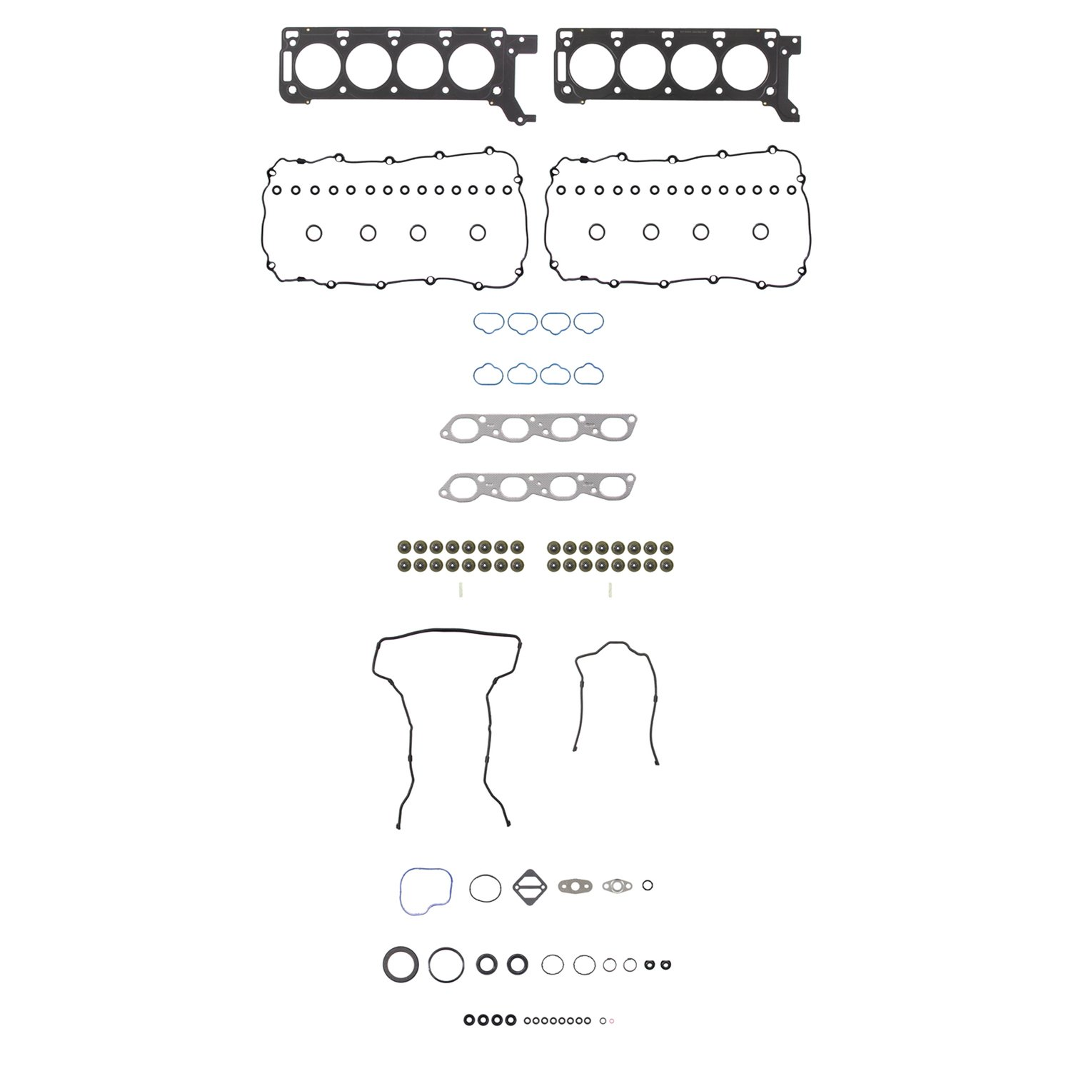 2000 Lincoln Ls Engine Cylinder Head Gasket Set V6 Diagram Fp Hs 26361 Pt