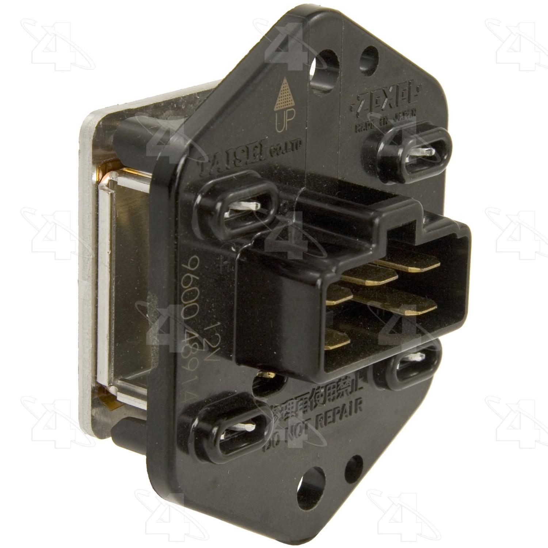 Standard Motor Products RU-468 A//C Blower Motor Switch//Resistor