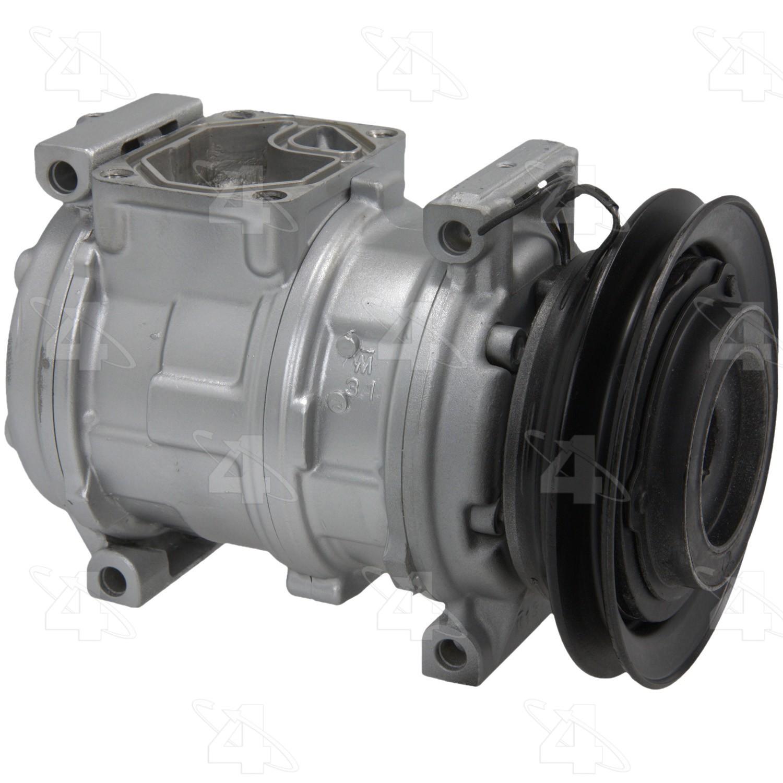 For Dodge Daytona Spirit A//C Compressor with Clutch Sanden Reman R1017016