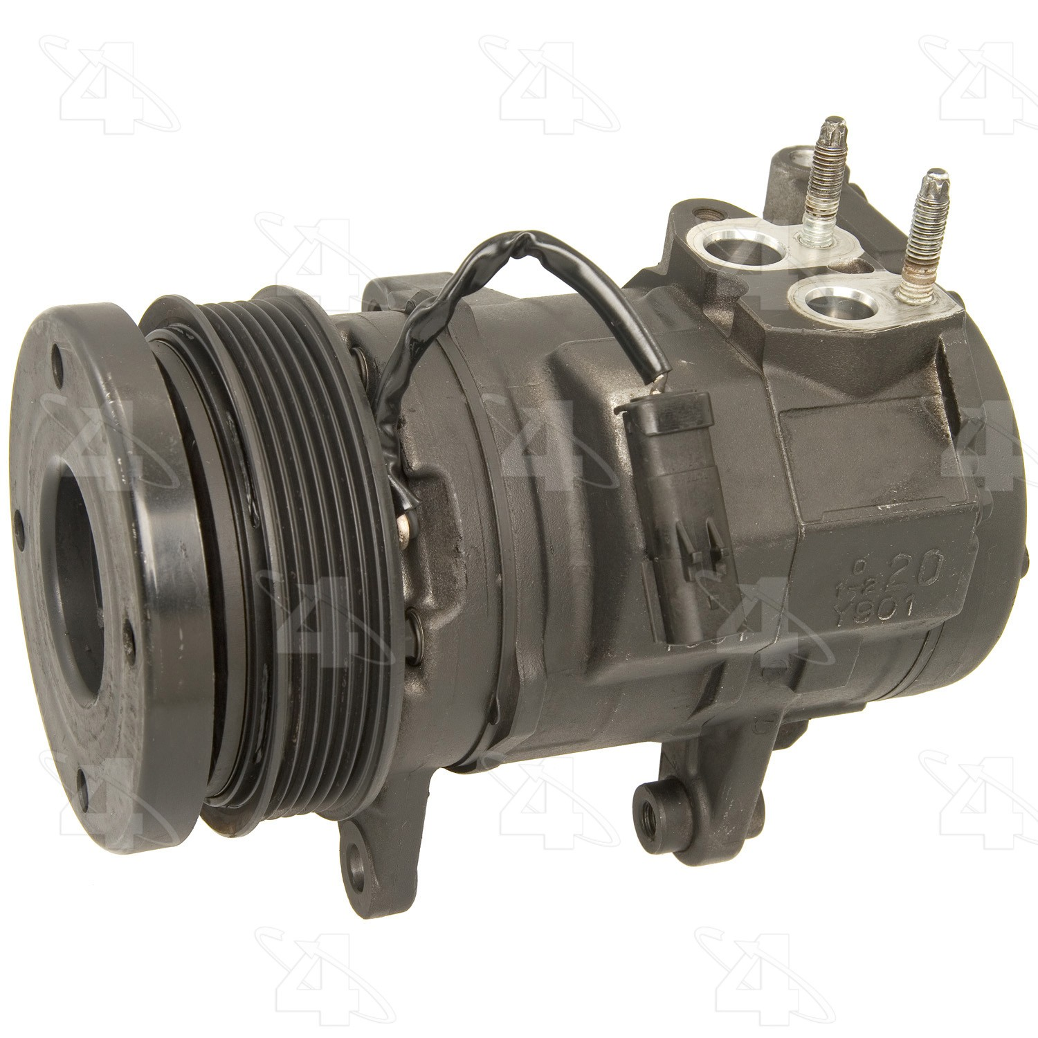 One Year Warranty A//C Compressor for Jeep Commander Grand Cherokee Reman 77361