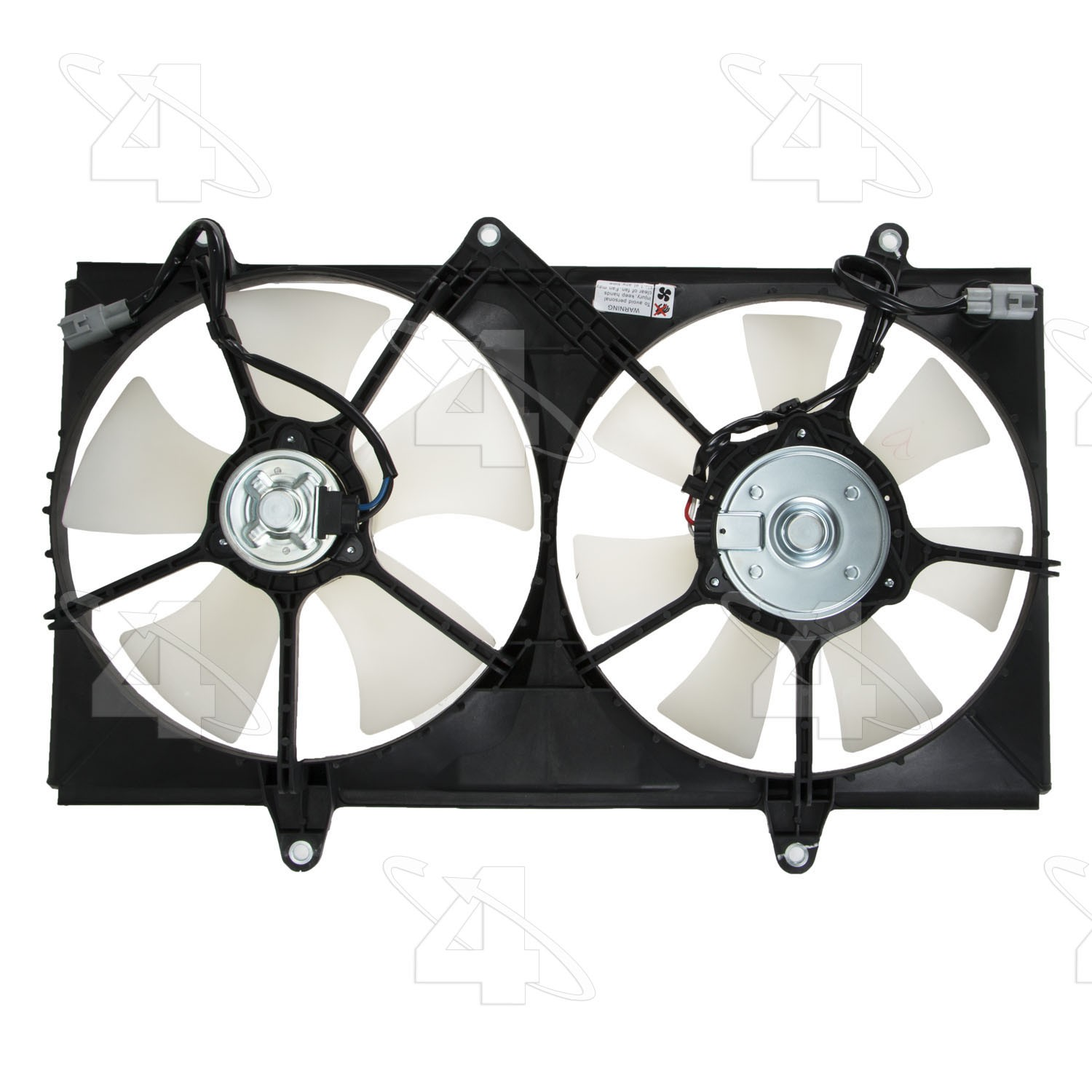 TYC 620010 Toyota Corolla Replacement Radiator//Condenser Cooling Fan Assembly