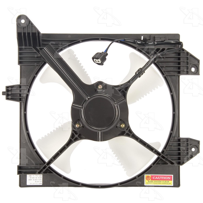 For 2002-2007 Mitsubishi Lancer Radiator Fan Assembly 91957QP 2003 2004 2005