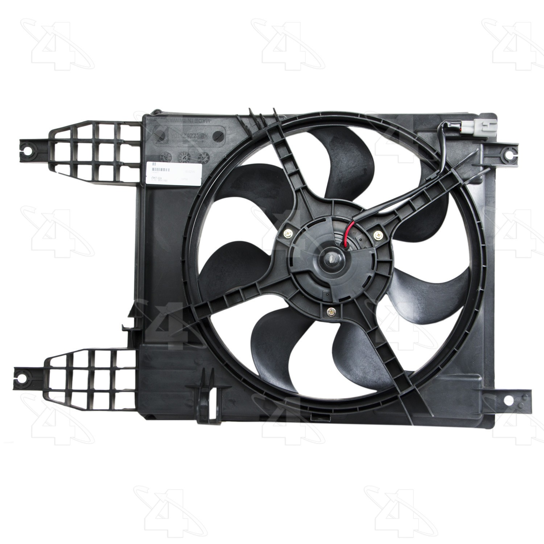 2009 Pontiac G3 Wave Engine Cooling Fan Assembly Technology Fs 76240