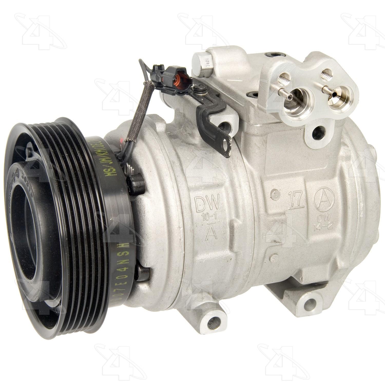 Fits Hyundai Tucson 2.7L V6 2005 To 2009 NEW AC Compressor CO 10927C