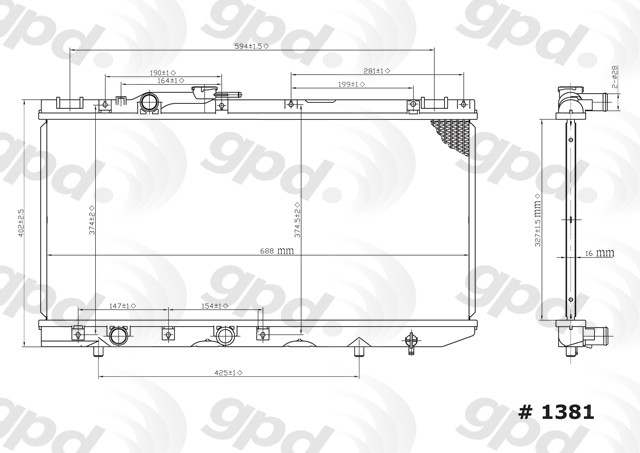 1993 toyota tercel cooling system diagram wiring diagrams control 1992 Toyota Tercel White 1993 toyota tercel radiator autopartskart com 1994 toyota tercel 1993 toyota tercel cooling system diagram