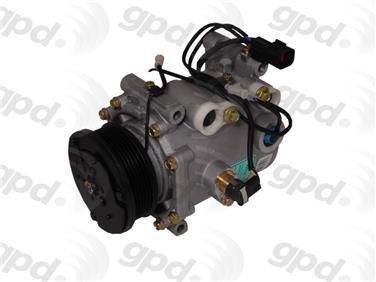 2001 Mitsubishi Eclipse A/C Compressor GP 6511683