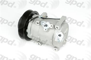 2009 Honda Accord A/C Compressor GP 6512752