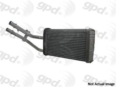 2004 Hyundai Tiburon HVAC Heater Core GP 8231422