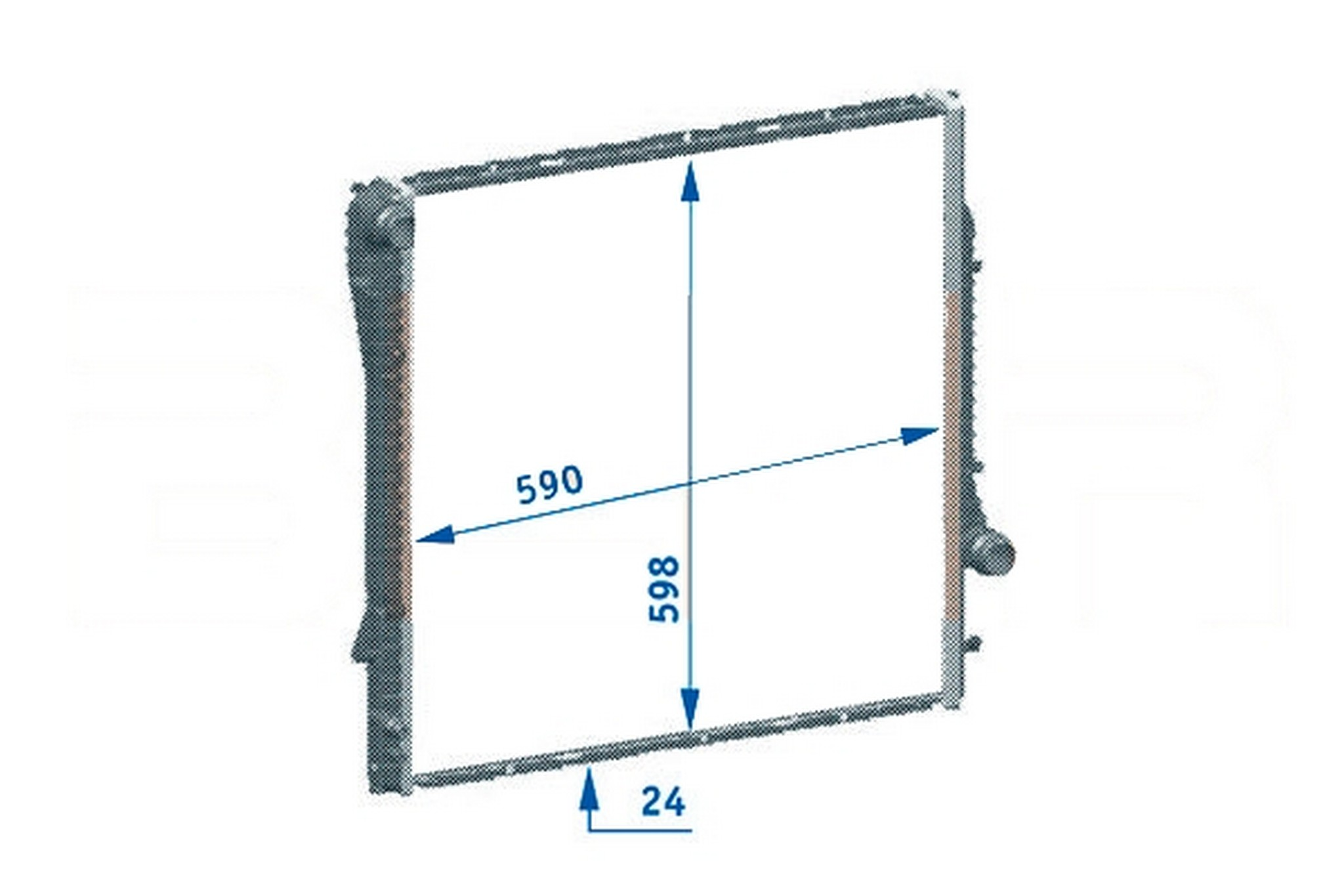 2002 Bmw X5 Radiator Diagram Reveolution Of Wiring Front Fuse Box Autopartskart Com Rh Cooling System Door