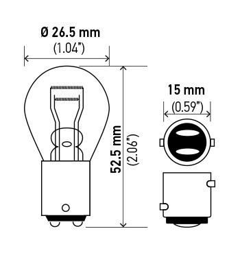 1995 Mercedes-Benz C36 AMG Fog Light Bulb | AutoPartsKart.com on