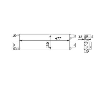 A/C Condenser HL 351301471