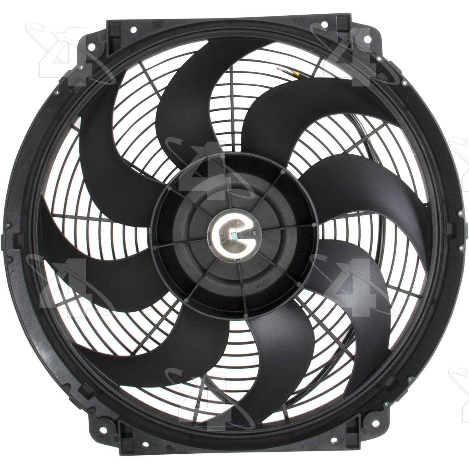 2002 Jeep Grand Cherokee Engine Cooling Fan Hy 3710