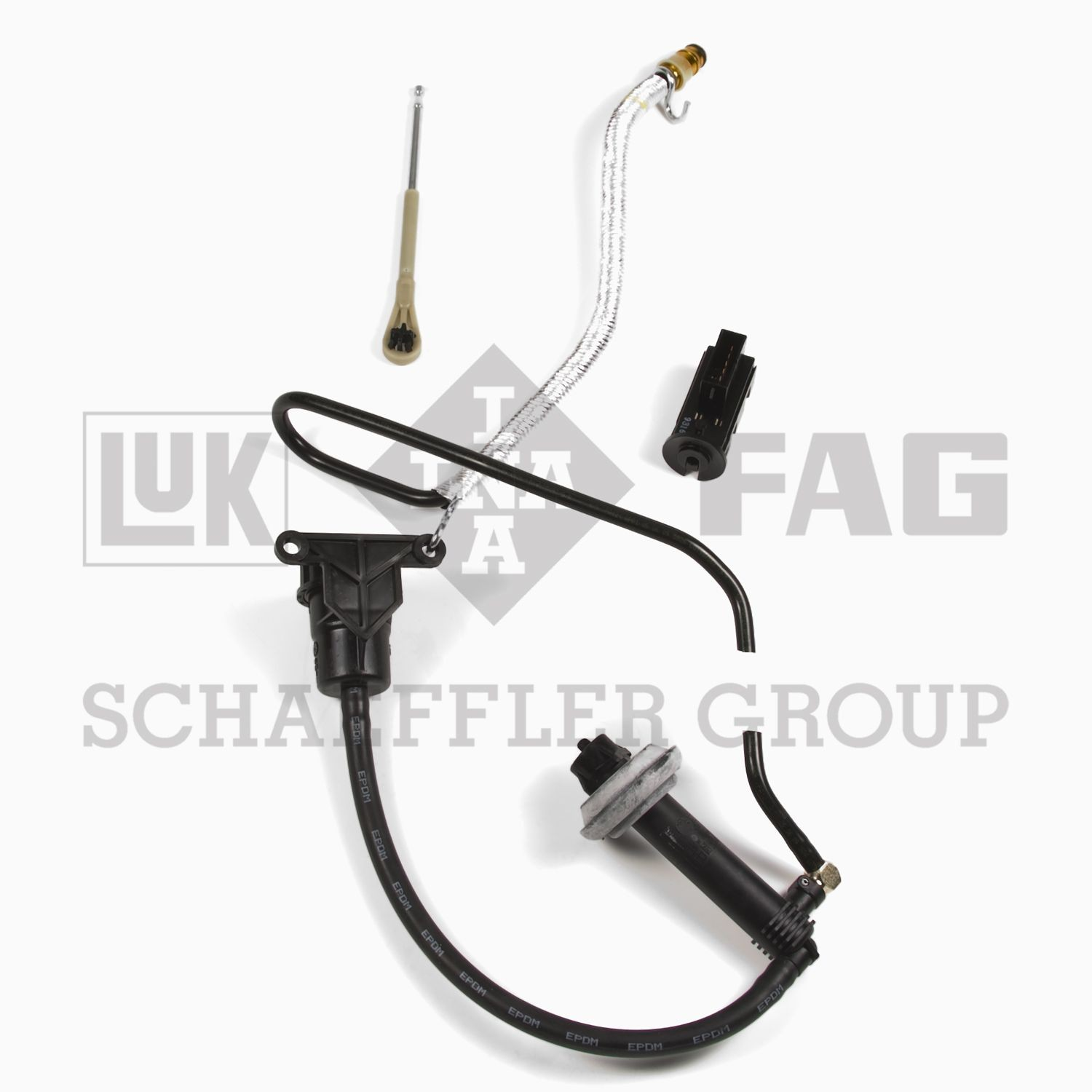 2000 Ford Ranger Clutch Master And Slave Cylinder Assembly Lk Crs025: Ford Ranger Clutch Slave Cylinder Diagram At Chusao.net