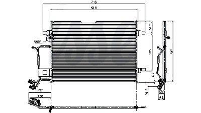 Passat A4 Quattro A4 New A//C Condenser CN 4923PFC 8D0260401A