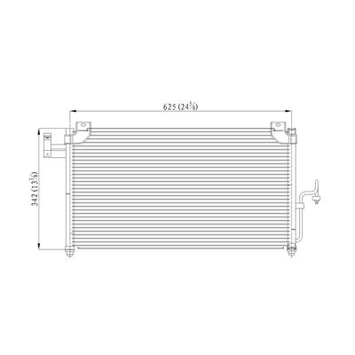 A//C Refrigerant Discharge Hose-Discharge Line UAC fits 01-03 Mazda Miata