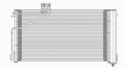 Spectra Premium 7-4825 A//C Condenser for Mercedes-Benz CLK320