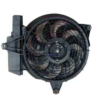 TYC 610610 Hyundai Santa FE Replacement Condenser Cooling Fan Assembly