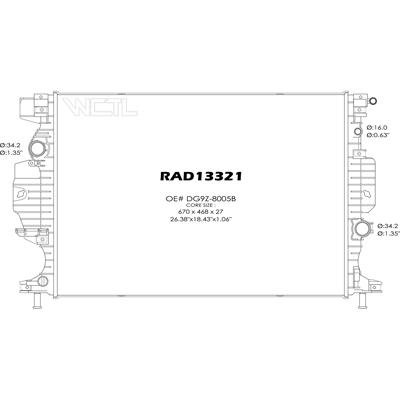 68 Length D/&D PowerDrive 13X1710 Metric Standard Replacement Belt 0.5 Width