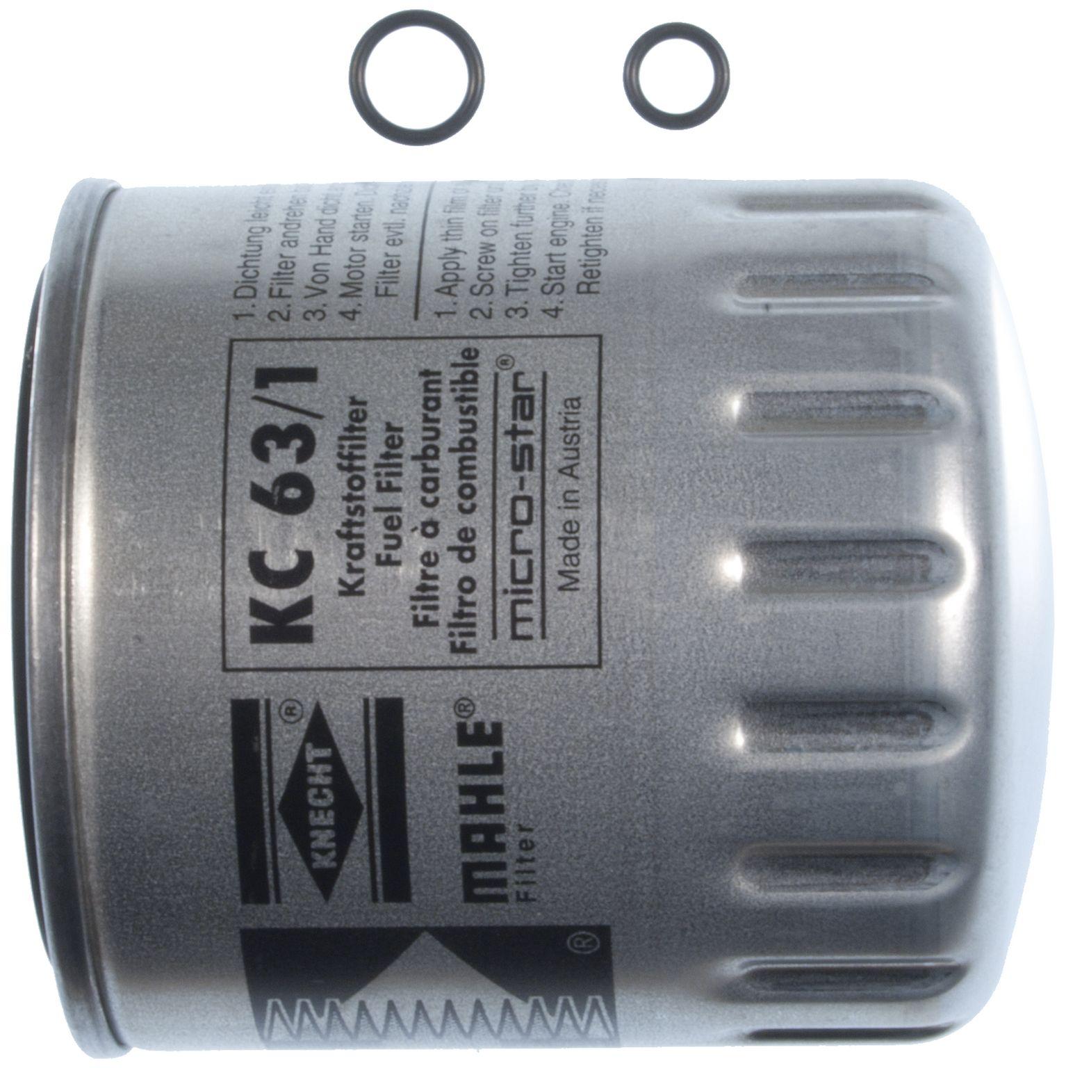 ... 1987 Mercedes-Benz 300SDL Fuel Filter M1 KC 63/1D ...