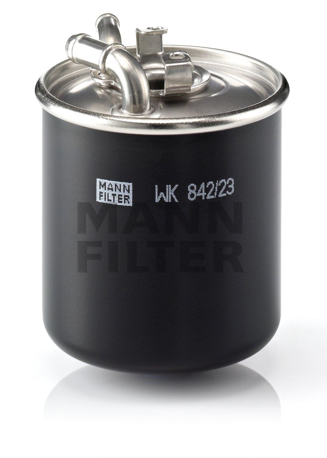 2007 Mercedes Benz Ml320 Fuel Filter 01 Location M6 Wk 842 23 X