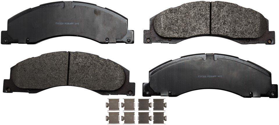 Bendix Fleet Metlok MKD1329FM Rear Brake Pad Set For Ford E350 Econoline Models