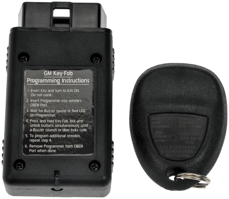 2008 Chevrolet Uplander Key Fob Motormite 13737
