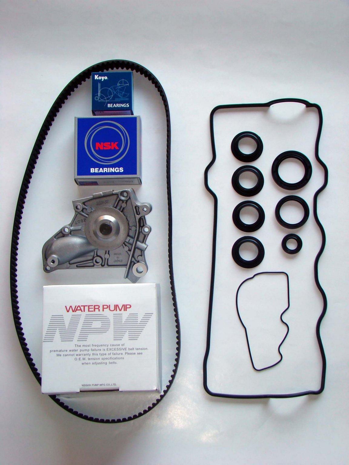 1994 Toyota Celica Engine Timing Belt Component Kit