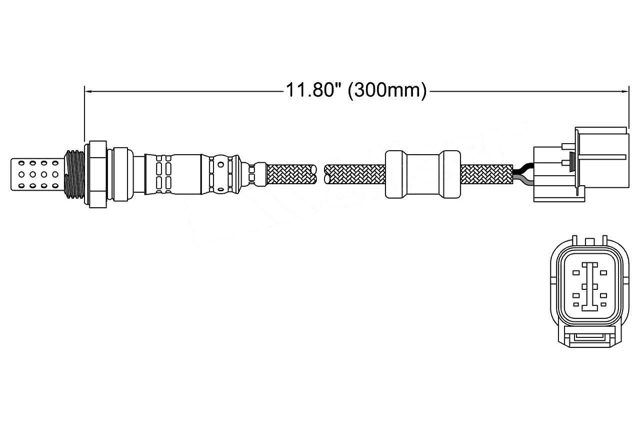 DENSO Premium Parts 234-4011 Oxygen Sensor 12 Month 12,000 Mile Warranty