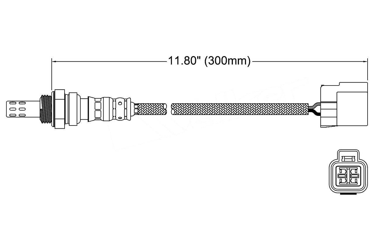 Details about  /For 1993-1996 Mitsubishi Mirage Oxygen Sensor Upstream Denso 84682HZ 1994 1995