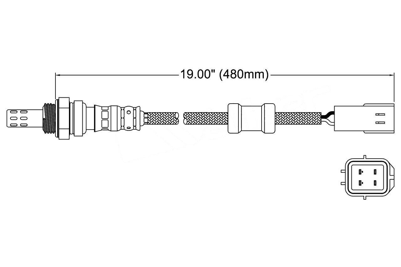 Oxygen Sensor-OE Style DENSO 234-4067