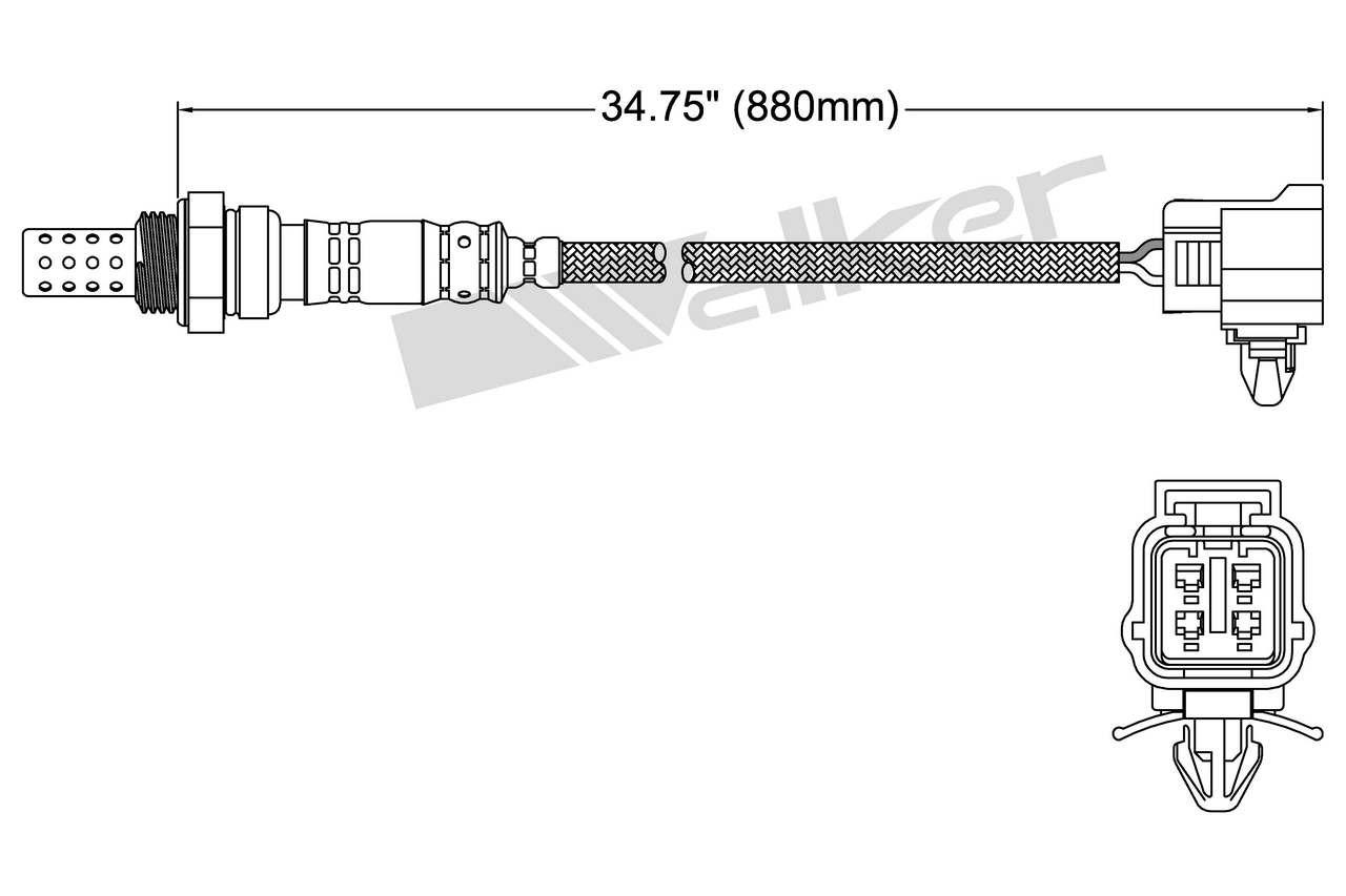 BRAND NEW O2 OXYGEN SENSOR FOR MAZDA PROTEGE MPV 250-24367