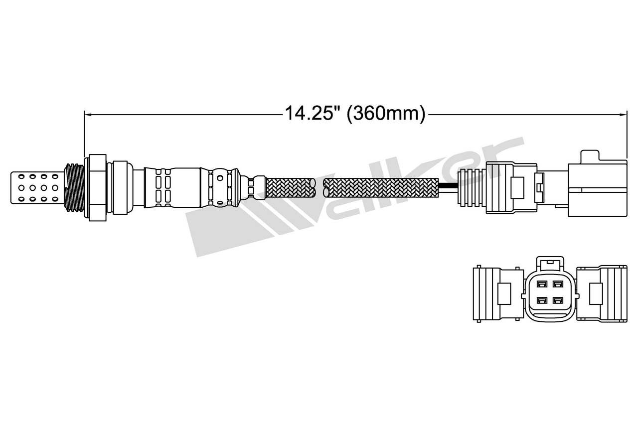 2006 Lexus Rx400h Oxygen Sensor 4 Wire Diagram O2 250 24420