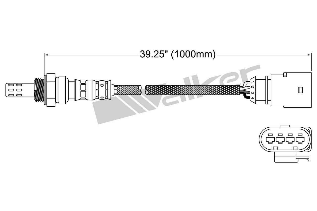Oxygen Sensor-Direct Fit Left NGK 25079