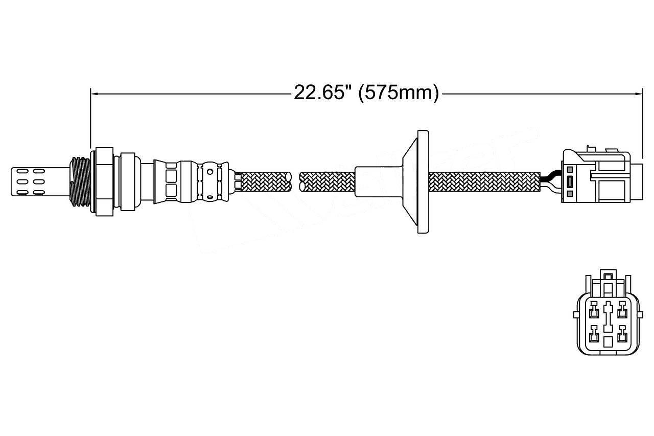 2011 Hyundai Tucson Oxygen Sensor O2 Wiring Diagram 250 24864